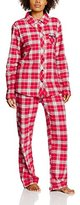 Esprit Bodywear Women's 106EF1Y001 Pyjama Set, Red (Cherry Red)