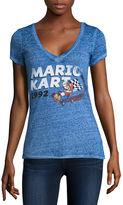 Fifth Sun Super Mario Graphic T-Shirt- Juniors