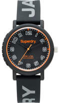 Superdry 3 Hands; Matte Black Dial