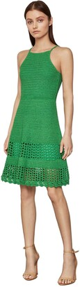 BCBGMAXAZRIA Women's Short Sweater Day Dress