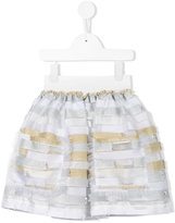 Mi Mi Sol - striped skirt - kids - Polyester - 8 yrs
