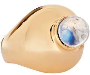 Chloé Gold-tone Bead Ring