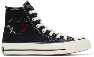 Converse Black Love Chuck 70 High Sneakers