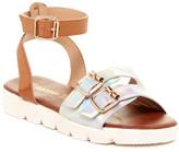 KensieGirl Buckle Detail Platform Sandal (Little Kid & Big Kid)