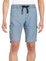 Jet Lag Woven Cotton Cargo Shorts