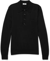 Cmmn Swdn Curtis Merino Wool Polo Shirt