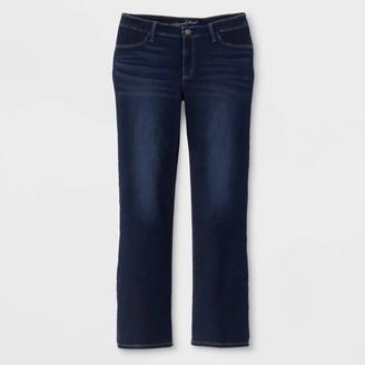 Universal Thread Women's Plus Size Adaptive Bootcut Jeans - Universal ThreadTM Dark Wash