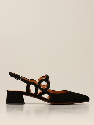Chie Mihara Rox Slingback In Suede