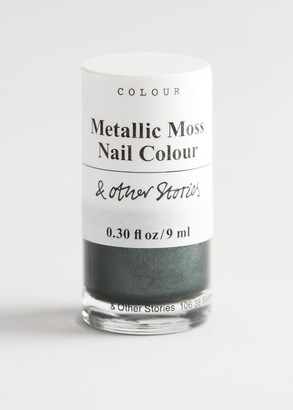 And other stories Metallic Moss Nail Polish
