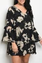 Classic Trendz Boutique Plus-Size Floral Dress