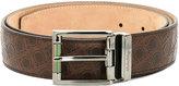 Salvatore Ferragamo all-over Gancio belt - men - Leather - 115