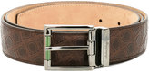 Salvatore Ferragamo all-over Gancio belt - men - Leather - 95