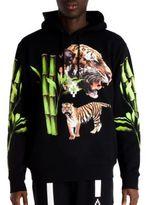 Marcelo Burlon County of Milan X Tyga Tiger Head Hoodie
