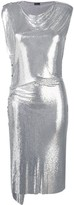 Paco Rabanne Draped Midi Dress