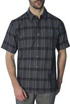 Haggar Regular-Fit Short Sleeve Plaid Shirt