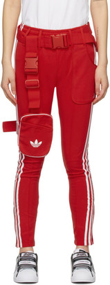 adidas Red Ji Won Choi and Olivia OBlanc Edition SST Track Pants