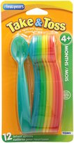 The First Years Take and Toss Infant Spoons, 12 Pack