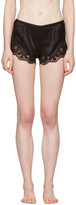 Dolce & Gabbana Black Lace-Trimmed Sleep Shorts