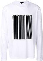 Alexander Wang bar code T-shirt