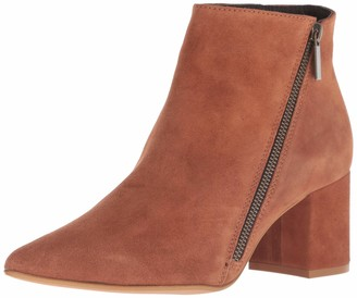 Kenneth Cole New York Women's Hayes Diagonal Side Zip Ankle Bootie Boot