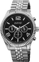 August Steiner Women's AS8096SSB Analog Display Swiss Quartz Silver Watch