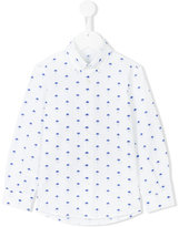 Il Gufo palm tree button down shirt - kids - Cotton - 8 yrs