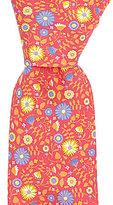 Ted Baker Pocket Full Of Posie Floral Silk Tie