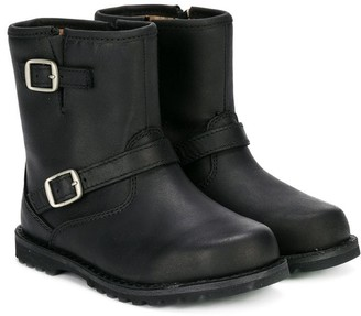 UGG Metal Buckles Ankle Boots