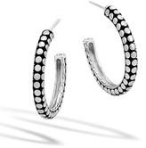 John Hardy Dot Medium Hoop Earrings