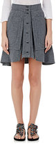 Isabel Marant Women's Nolina Cotton Chambray Miniskirt