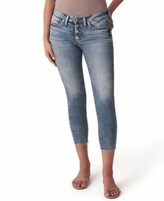 Thumbnail for your product : Silver Jeans Co. Suki Cropped Skinny Jeans