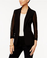 Nine West Illusion-Sleeve Blazer