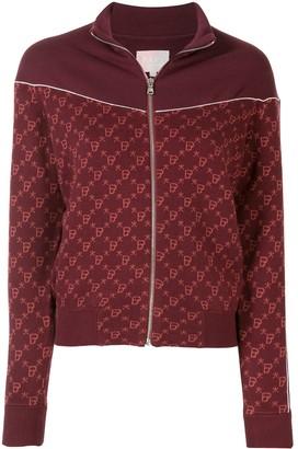 Bapy By *A Bathing Ape® Intarsia Knit Zipped Jacket