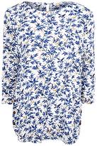 Fat Face Tulip Songbirds T-Shirt, Ivory
