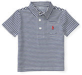 Ralph Lauren Boy Striped Cotton Jersey Polo