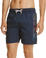 Original Penguin Rainbow Ombre Original Swim Trunks