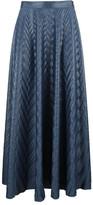 Golden Goose Deluxe Brand Pleated Herringbone Skirt
