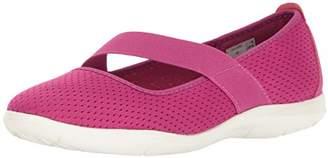 Crocs Women's SwftwtrFlatW Ballet Flats, Purple (Vibrant Violet/White)