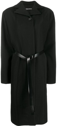 Kwaidan Editions Oversized Belted Coat