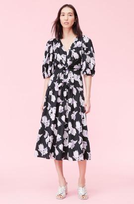 Rebecca Taylor Ikat Blossom Cotton Dress