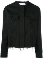 Marques Almeida Marques'almeida - fitted jacket - women - Cotton - XS