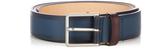 Paul Smith Burnished-leather belt