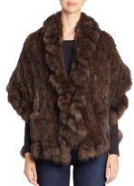 The Fur Salon Ruffle-Trim Sable Fur Stole