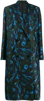 Christian Wijnants floral print coat