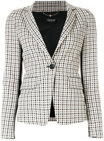 Twin-Set plaid check blazer - women - Polyamide/Polyester/Spandex/Elastane/Viscose - 40