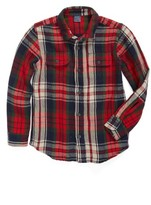 Tailor Vintage Toddler Boy's Reversible Plaid Shirt Jacket