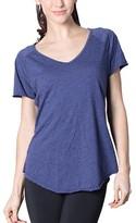 Venley Women's Tee Shirts Cobalt - Cobalt Tommy V-Neck Tee - Women