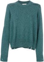 Etoile Isabel Marant distressed jumoer - women - Cotton/Wool - 36