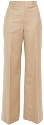 Theory Wool-flannel Wide-leg Pants