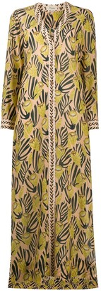 Temperley London Reef print shirtdress
